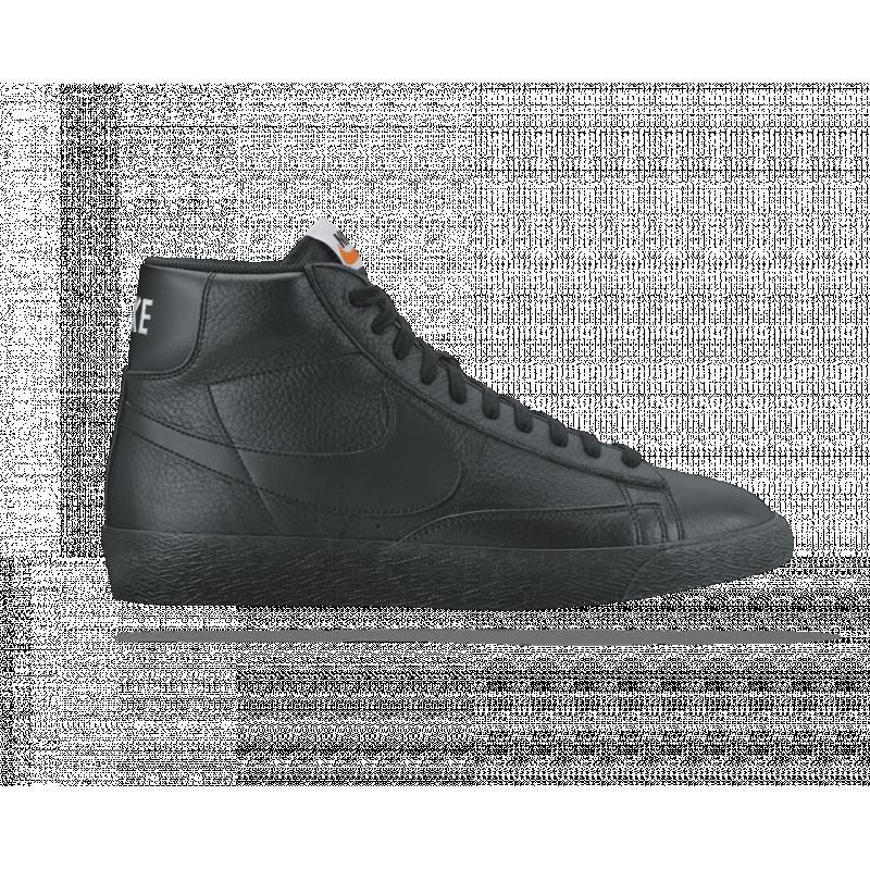 nike blazer mid premium 09 sneaker 007 in schwarz. Black Bedroom Furniture Sets. Home Design Ideas