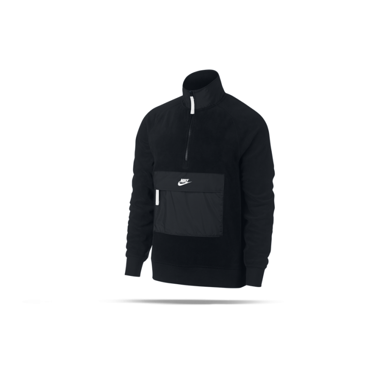 NIKE Core 1/2 Zip Winter Sweatshirt (010) - Schwarz