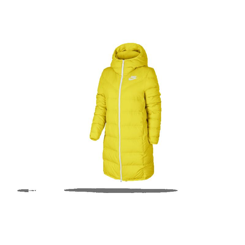 Nike Down Fill Jacket Chrome YellowWhite