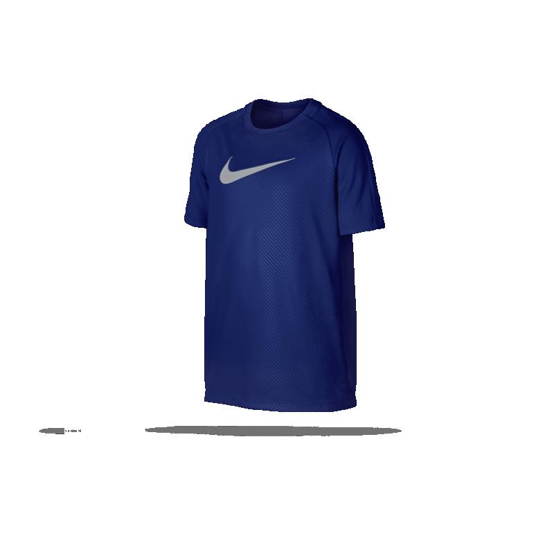 NIKE Dry Academy GX2 Tee T-Shirt Kinder (455) - Blau