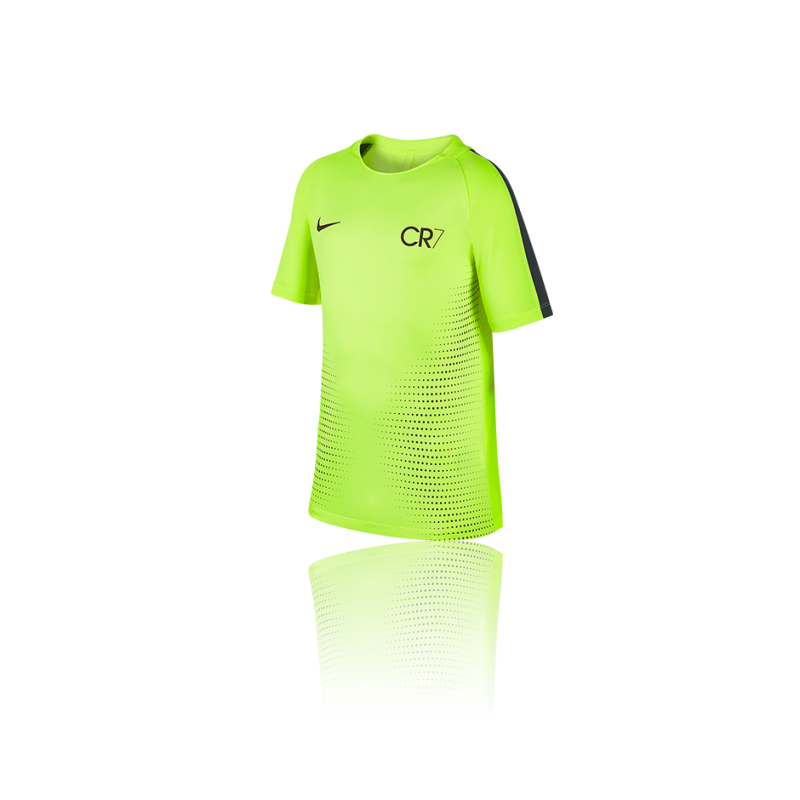NIKE Dry CR7 Football Top Kurzarmshirt Kinder (702) - Gelb