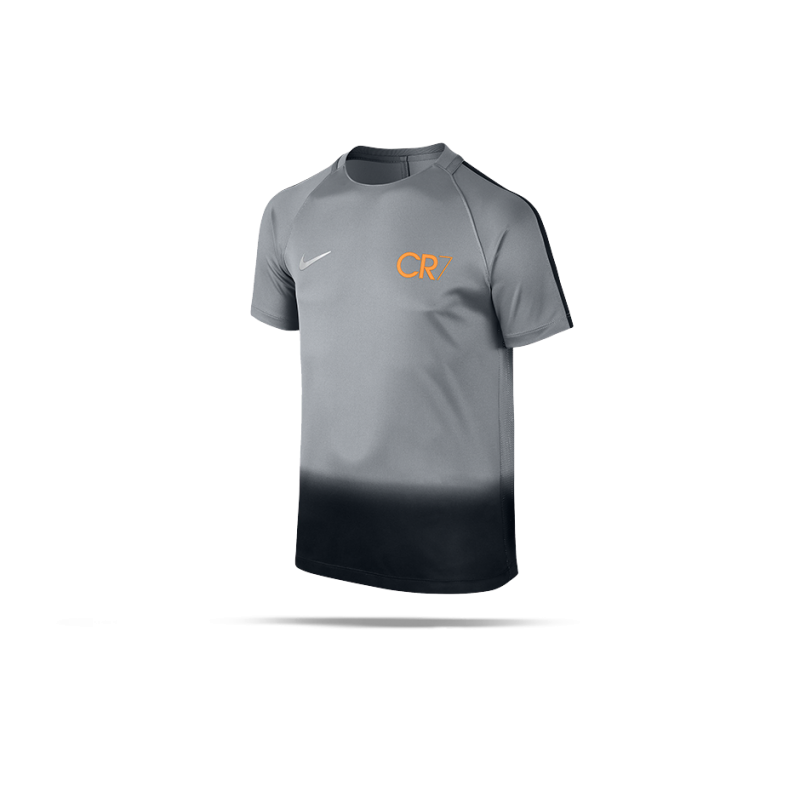 Nike Dry Cr7 Squad Football Top T Shirt Kinder 065 In Grau