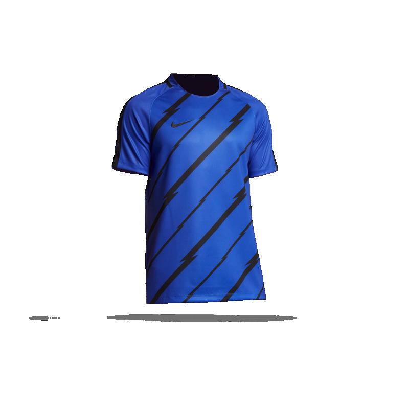 nike dry football top tshirt 453 in blau