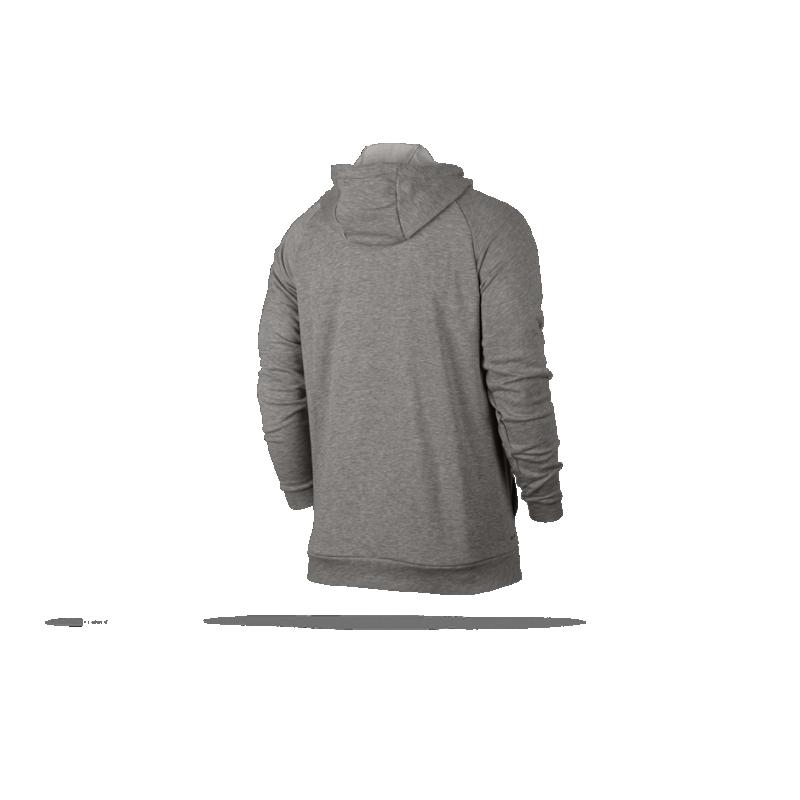 ... NIKE Dry Fullzip Hoody Kapuzenjacke (063) - Grau ... ee126714f9