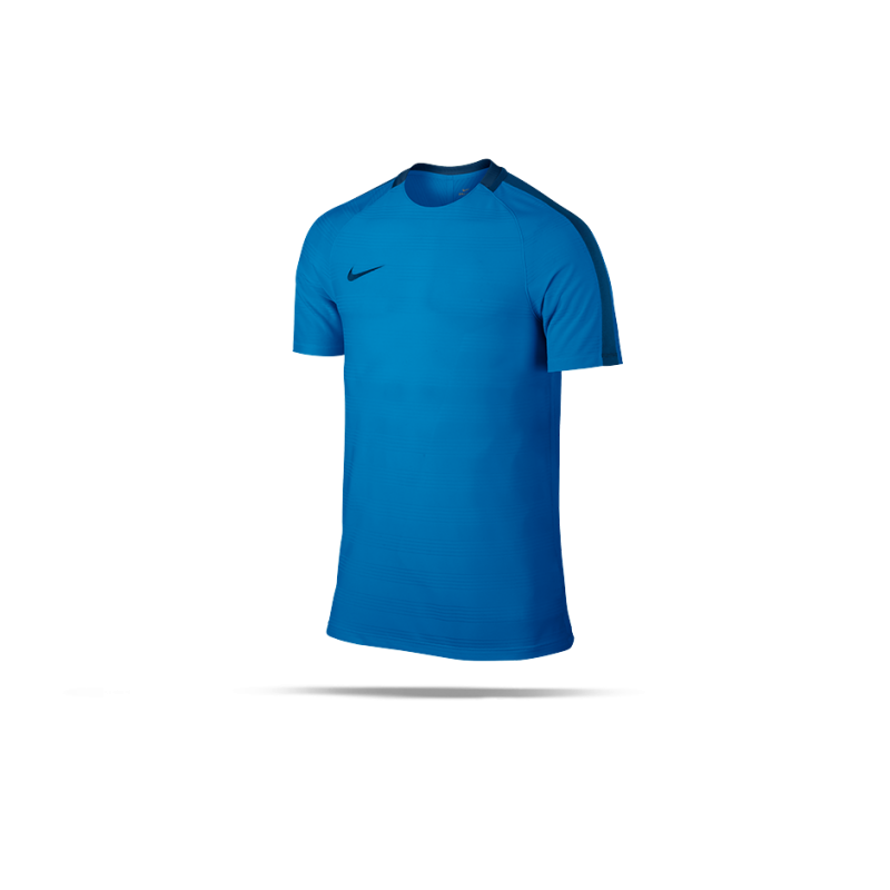 nike dry squad football top tshirt kinder 435 in blau
