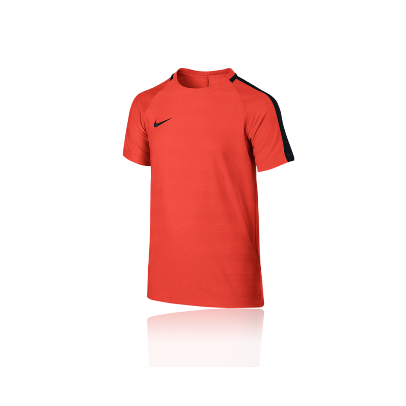 nike dry squad football top tshirt kinder 852 in orange