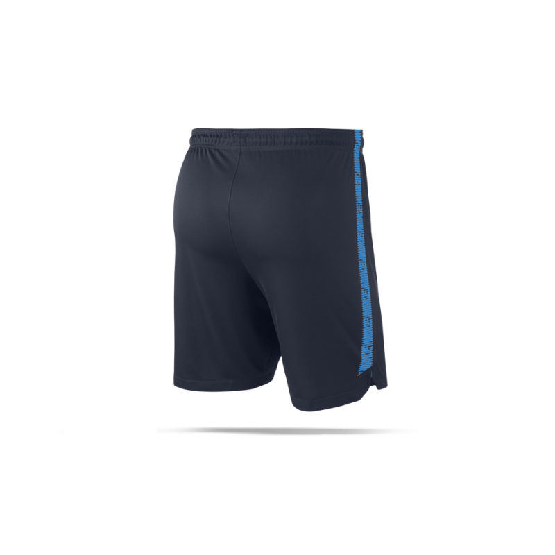 nike dry squad short hose kurz 452 in blau. Black Bedroom Furniture Sets. Home Design Ideas