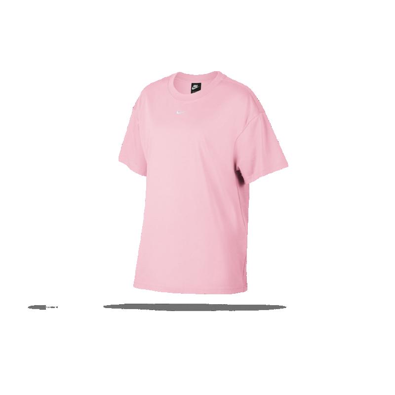 8d3cdc9830a8e2 NIKE Essential Tee T-Shirt Damen (663) in Pink