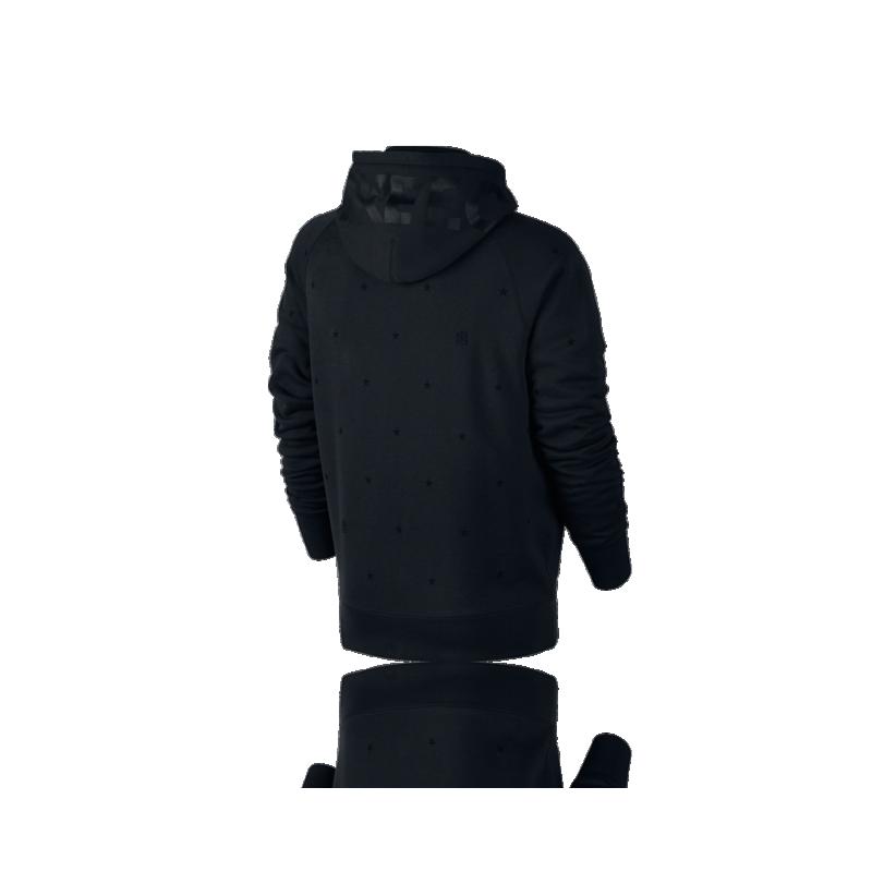 nike f c aw77 full zip hoodie black 010 in schwarz. Black Bedroom Furniture Sets. Home Design Ideas