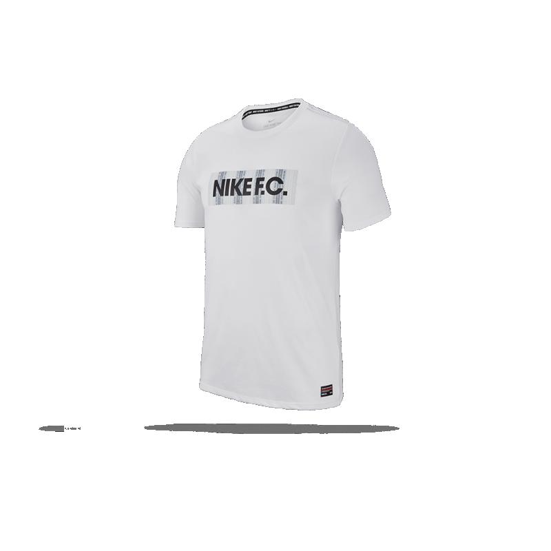 NIKE F.C. Dry Tee T-Shirt (100) - Weiß