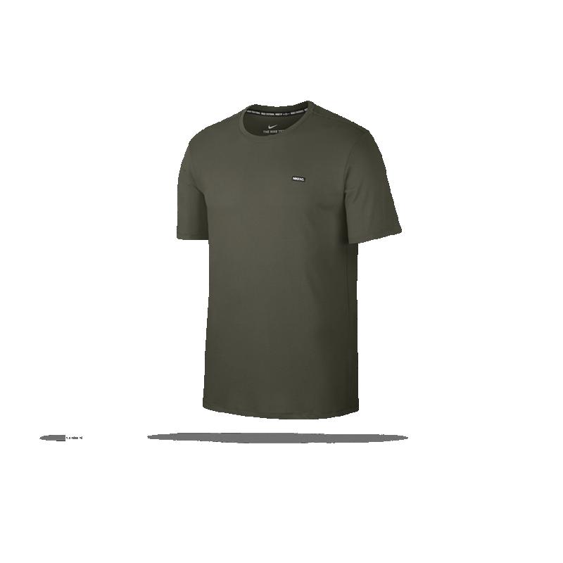 NIKE F.C. Small Block Dry T-Shirt (325) - Grün