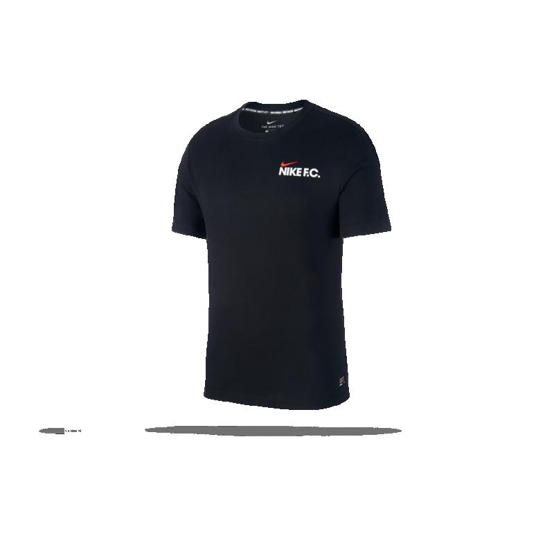 NIKE F.C. Tee T-Shirt (010) - Schwarz