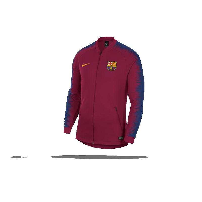 NIKE FC Barcelona Anthem Jacket Jacke (620) in Rot 75ed29893