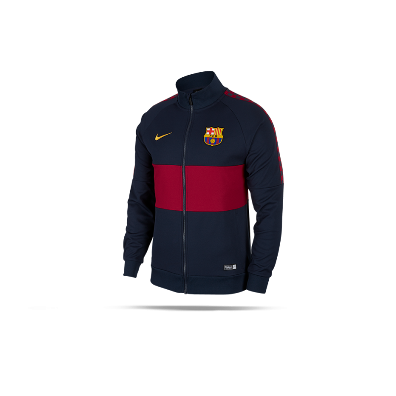09e86080c NIKE FC Barcelona I96 Jacke (451) in Blau