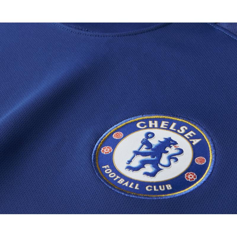 b410e34edd1 ... NIKE FC Chelsea London Trikot Home 17 18 (496) - Blau ...