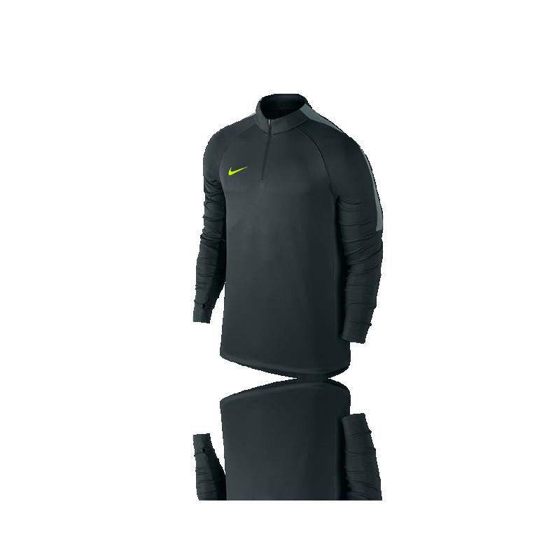 NIKE Football Drill Top 1/4 Zip Langarmshirt (364) - Grün