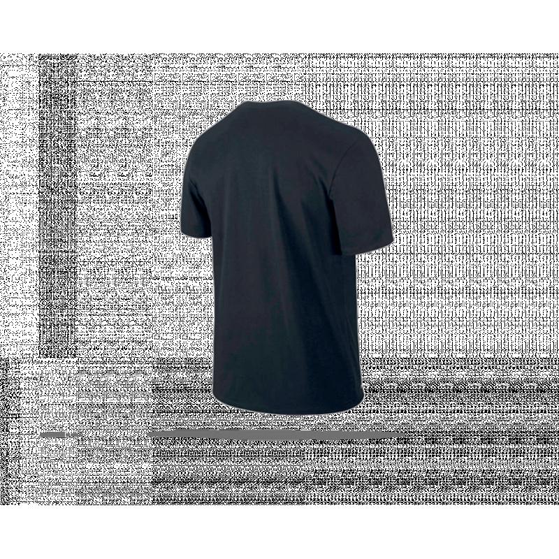 nike football x tshirt 011 in schwarz