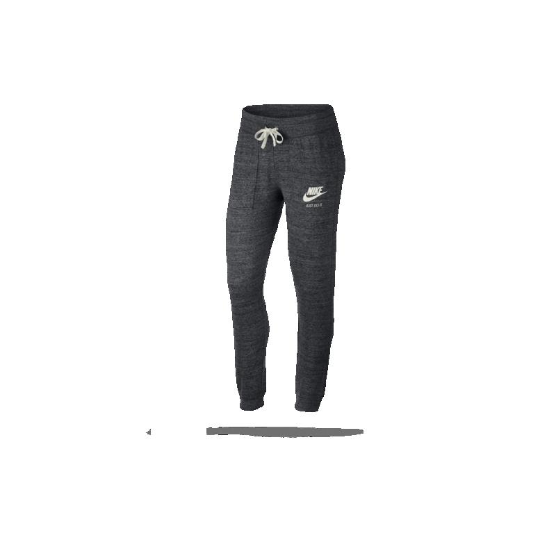 nike gym vintage pant jogginghose damen 060 in grau. Black Bedroom Furniture Sets. Home Design Ideas