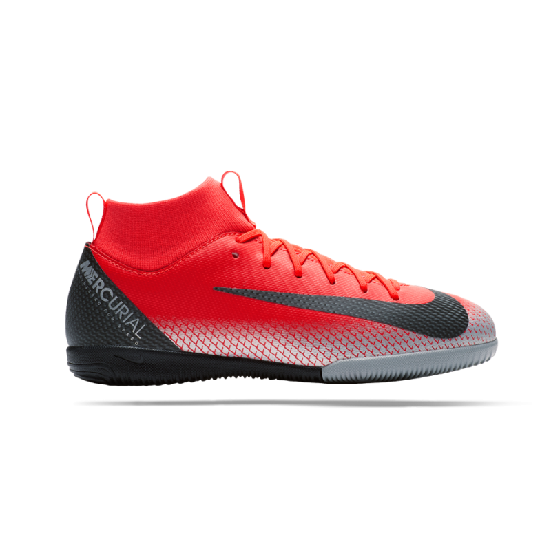 NIKE Junior Mercurial SuperflyX 6 Academy CR7 IC (600) - Rot