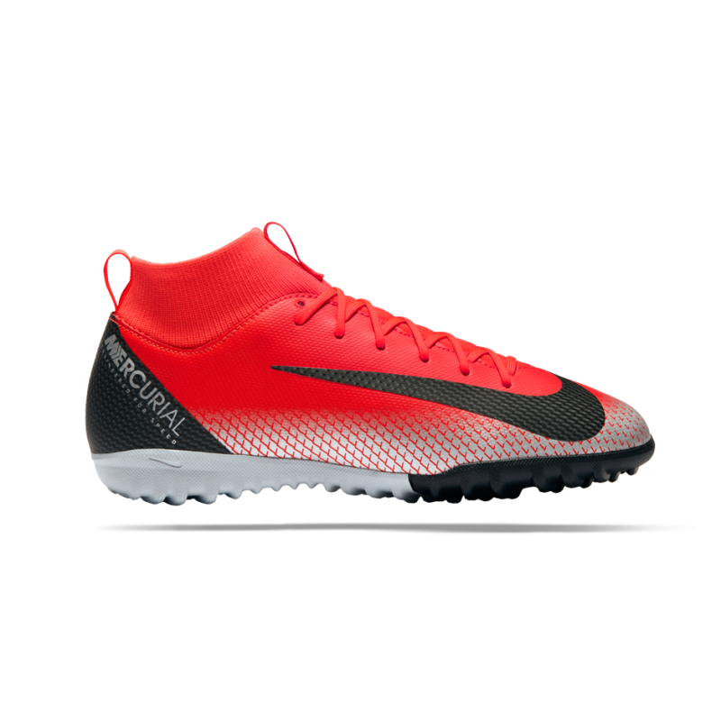 NIKE Junior Mercurial SuperflyX 6 Academy CR7 TF (600) - Rot