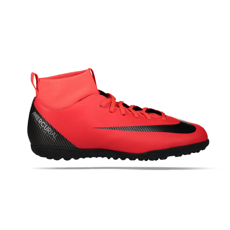 NIKE Junior Mercurial SuperflyX 6 Club CR7 TF (600) - Rot