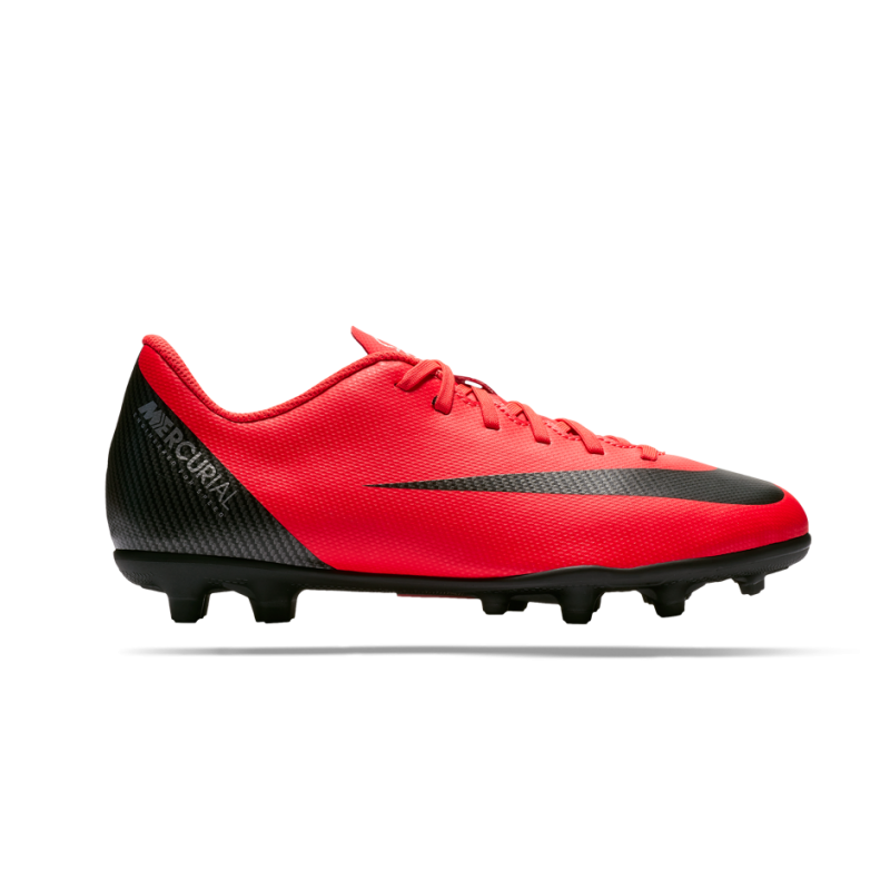 NIKE Junior Mercurial Vapor 12 Club CR7 MG GS (600) - Rot