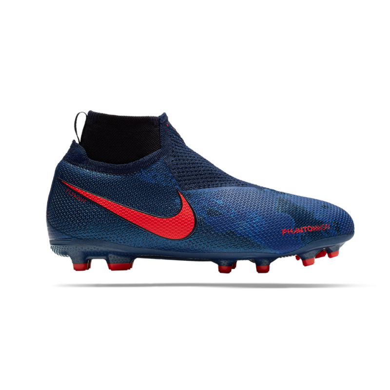 NIKE Junior Phantom Vision Elite MG (440) - Blau