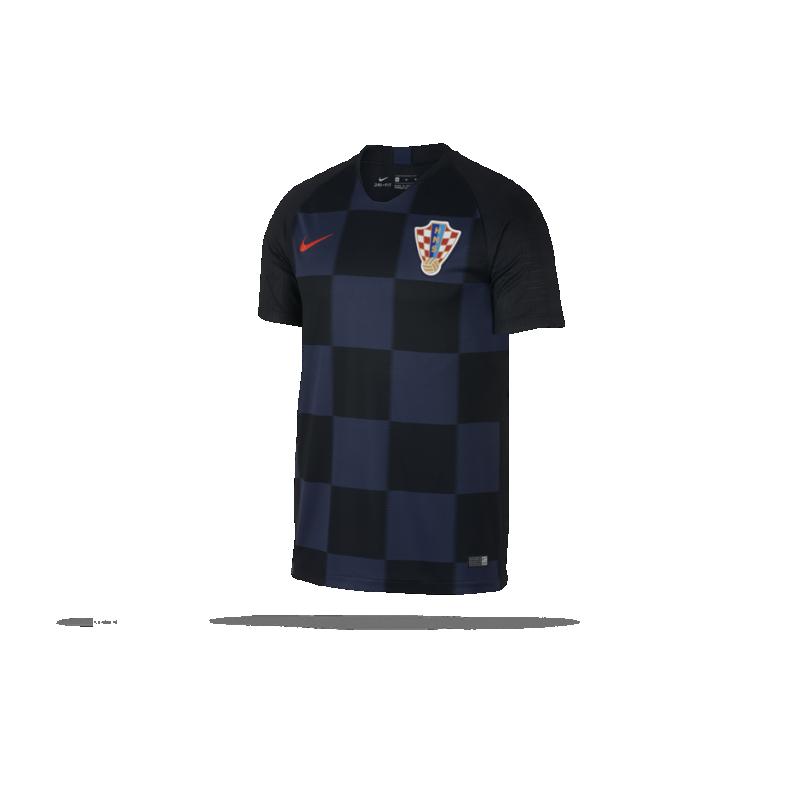 NIKE Kroatien Trikot Away WM 18 (010) - Schwarz