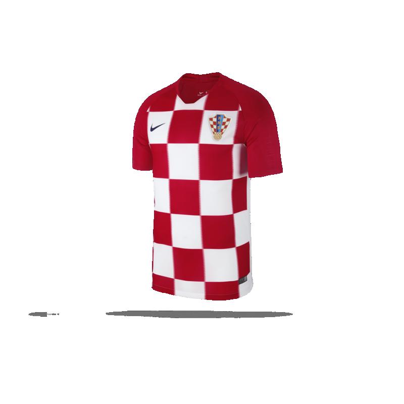 NIKE Kroatien Trikot Home WM 18 (657) - Rot