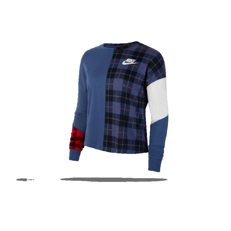 timeless design 32f84 3fa67 NIKE Longsleeve Sweatshirt langarm Damen (469)
