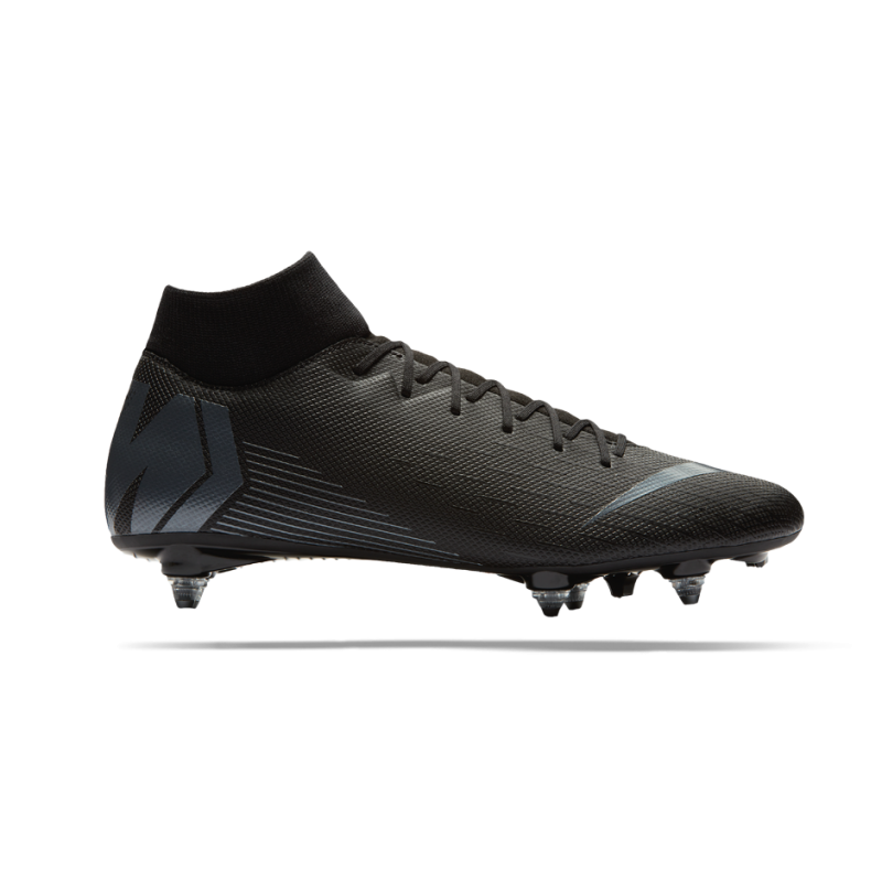 first rate a5a3d 6faf3 NIKE Mercurial Superfly 6 Academy SG-Pro (001) - Schwarz