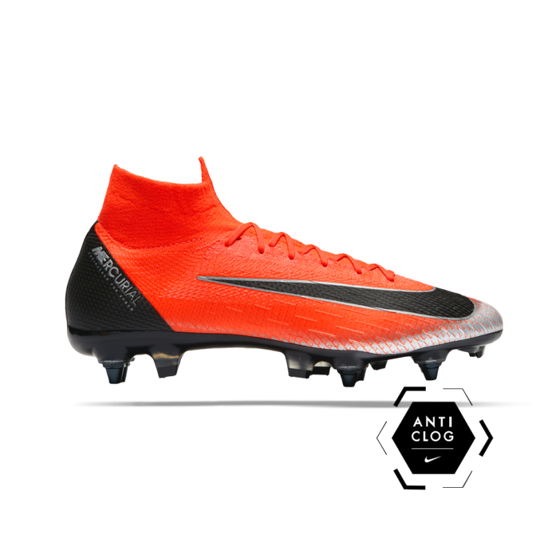 NIKE Mercurial Superfly 6 Elite CR7 SG-Pro Anti Clog (600) - Rot