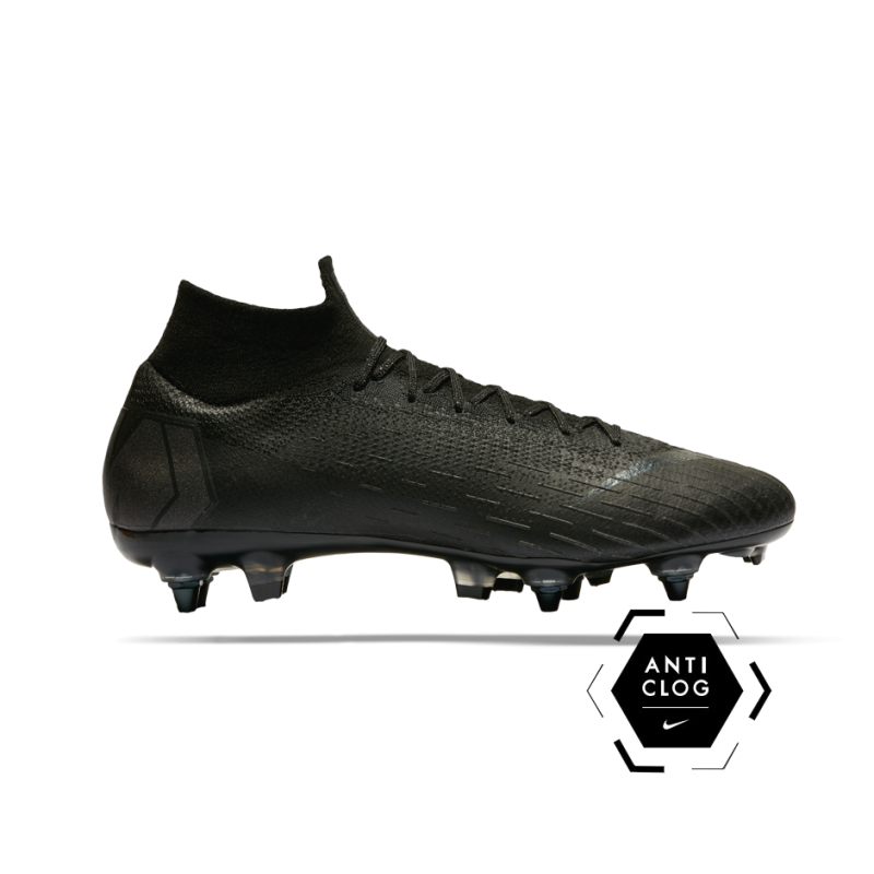 NIKE Mercurial Superfly 6 Elite SG-Pro Anti Clog (001) - Schwarz