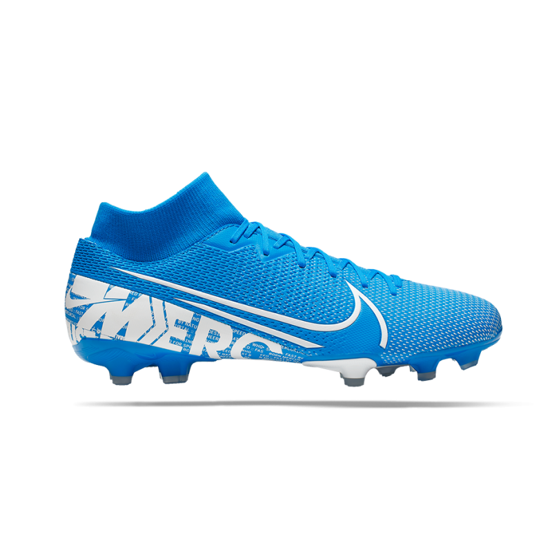 NIKE Mercurial Superfly 7 Academy FG/MG (414) - Blau