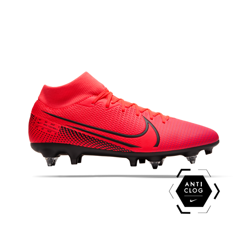 NIKE Mercurial Superfly 7 Academy SG-Pro AC (606) - Rot