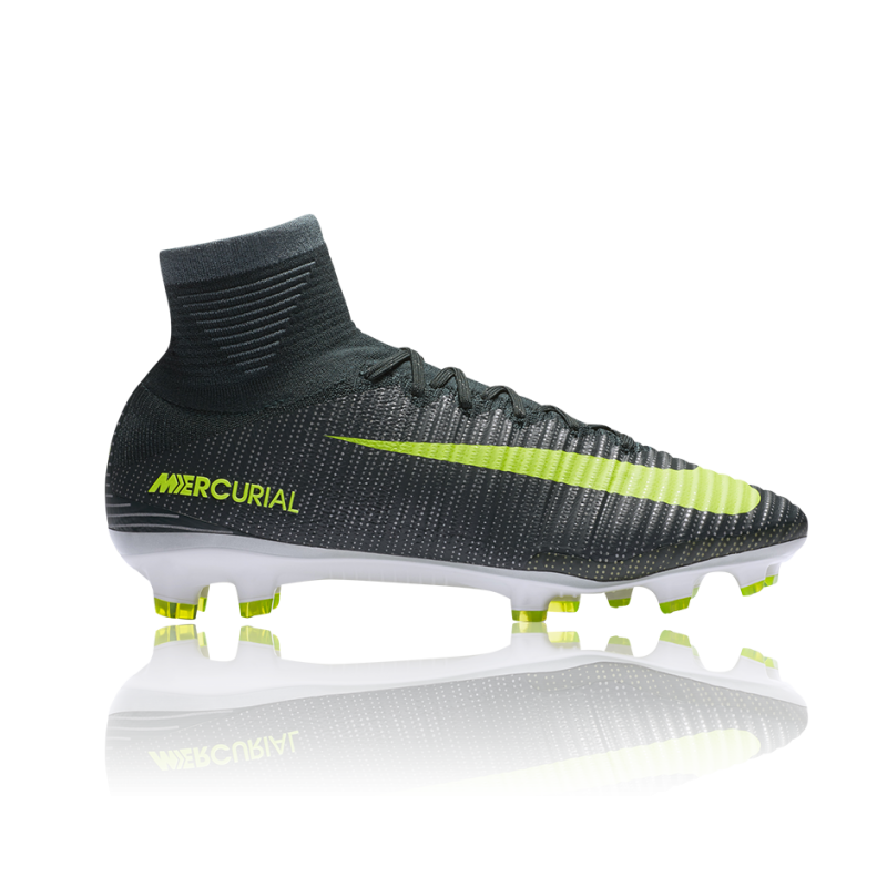 NIKE Mercurial Superfly V CR7 FG (376) - Grün