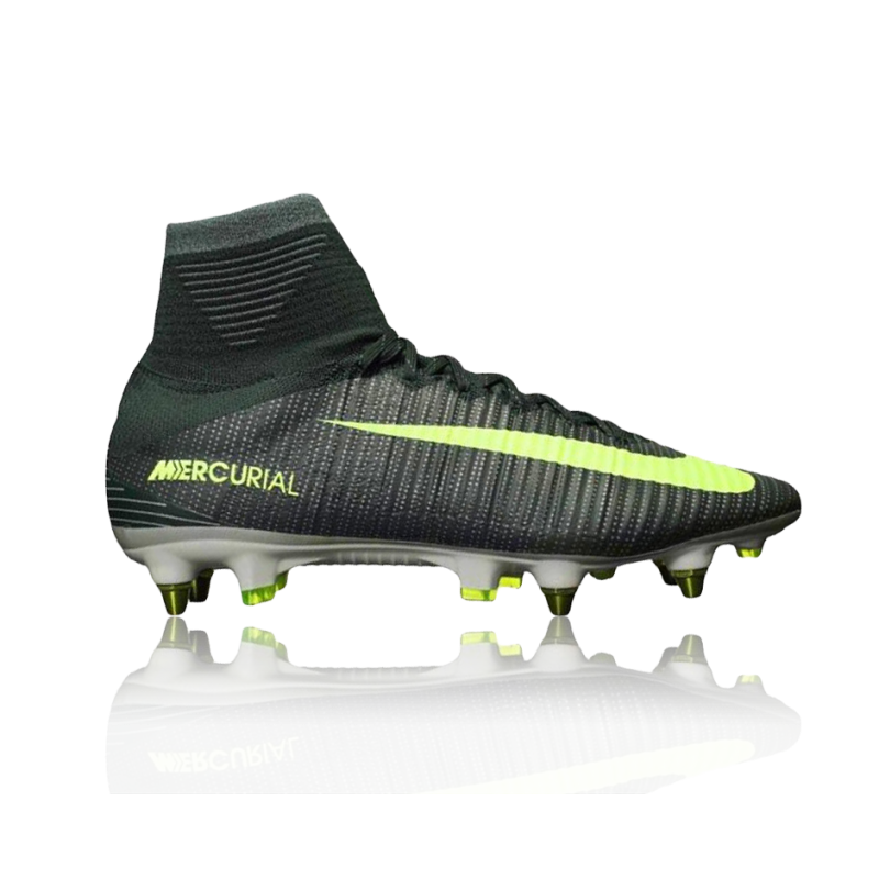 NIKE Mercurial Superfly V CR7 SG-Pro (376) - Grün