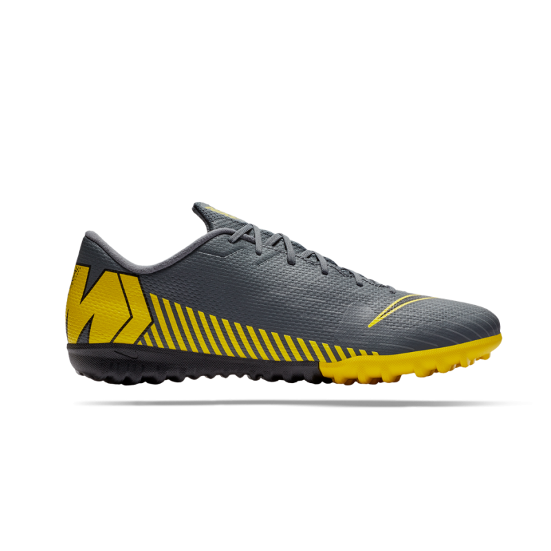 Nike MercurialX Vapor XII Academy TF Herren Fußballschuhe Multinocken AH7384 107 weißorange