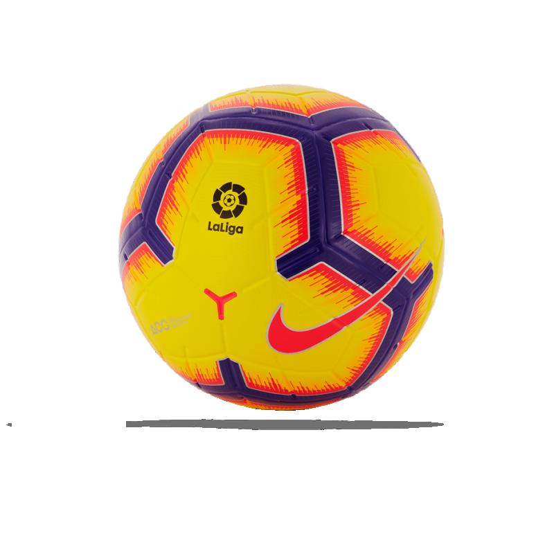 NIKE Merlin BBVA La Liga Spielball Gr. 5 (710) - Gelb