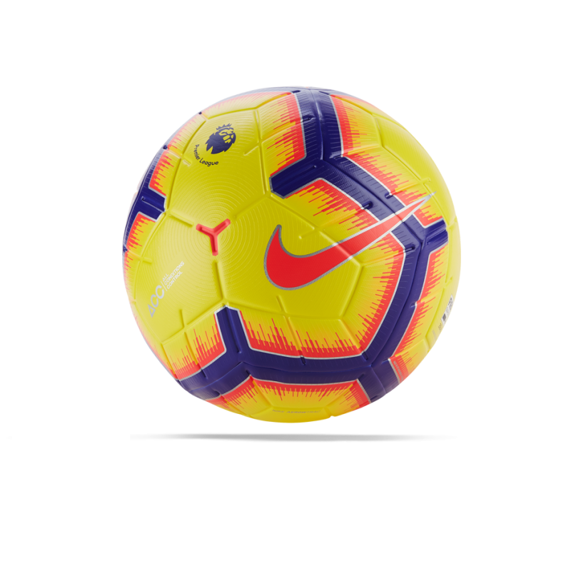 NIKE Merlin Premier League Spielball Gr. 5 (710) - Gelb