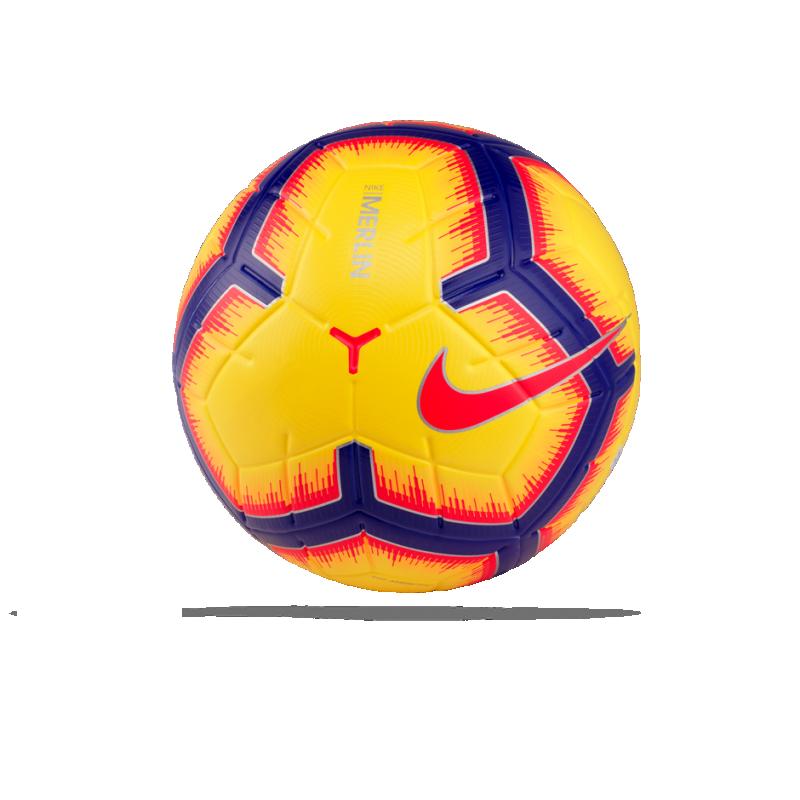 NIKE Merlin Spielball Gr. 5 (710) - Gelb
