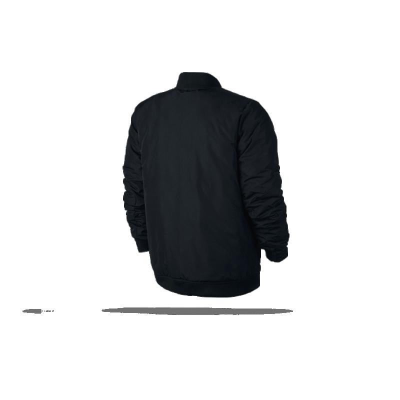 nike modern jacket jacke 010 in schwarz. Black Bedroom Furniture Sets. Home Design Ideas