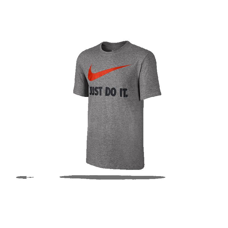 NIKE New Just Do It T-Shirt (063) - Grau