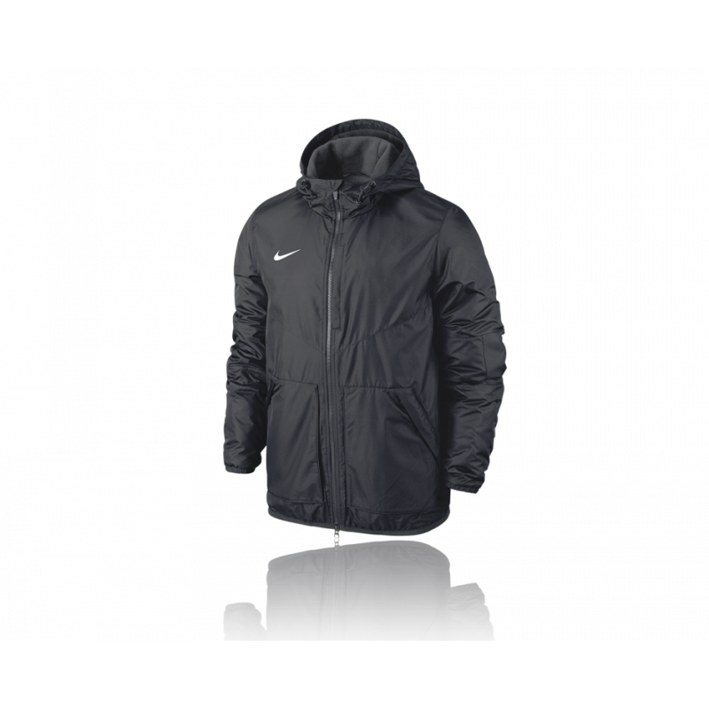 nike team fall jacket jacke 010 in schwarz. Black Bedroom Furniture Sets. Home Design Ideas