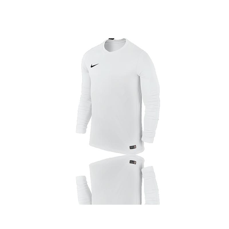 NIKE Park VI Trikot langarm (100) - Weiß
