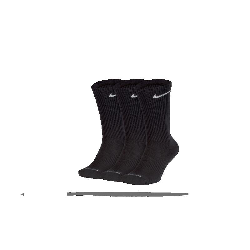 NIKE Perfect Cushion Crew Socken 3er Pack (001) - Schwarz