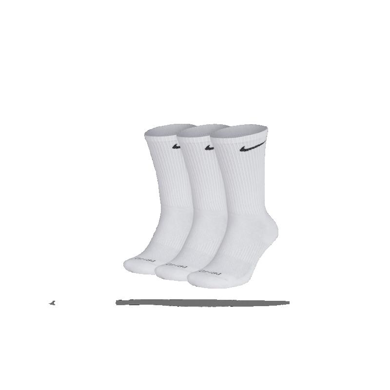 NIKE Perfect Cushion Crew Socken 3er Pack (101) - Weiß
