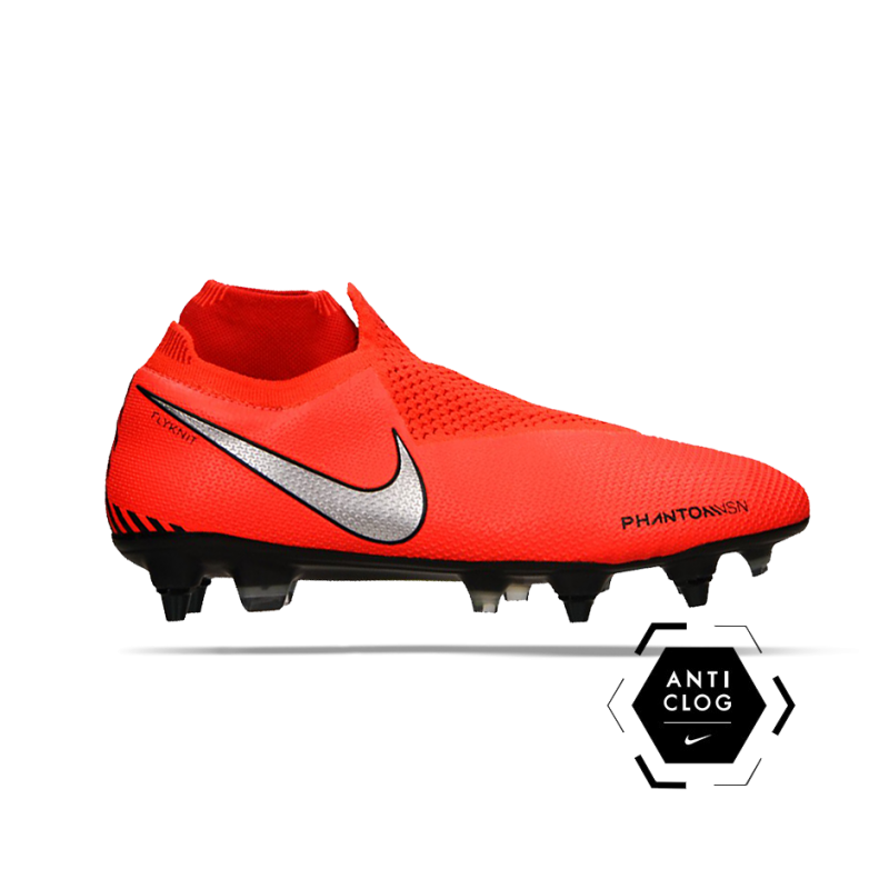 NIKE Phantom Vision Elite DF SG-Pro Anti Clog (600) - Rot