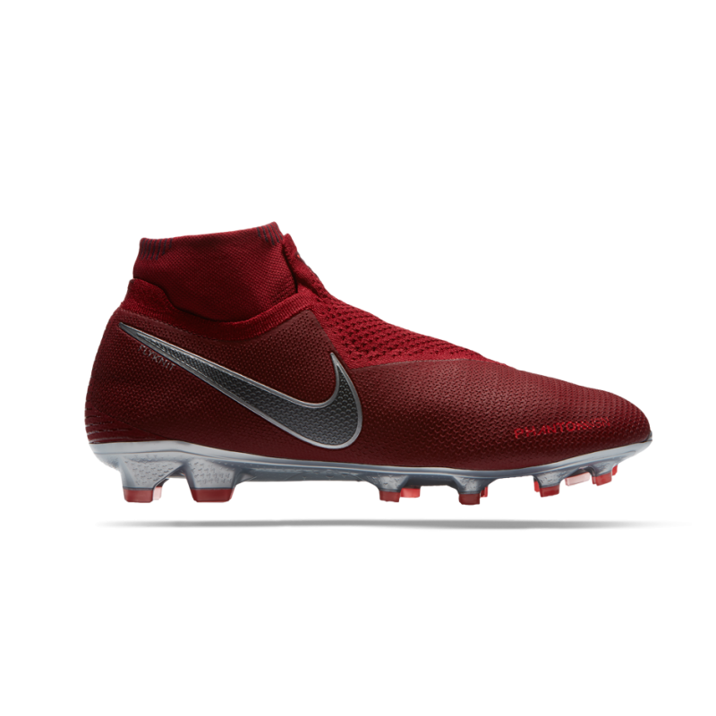 NIKE Phantom Vision Elite DF FG (606) - Rot