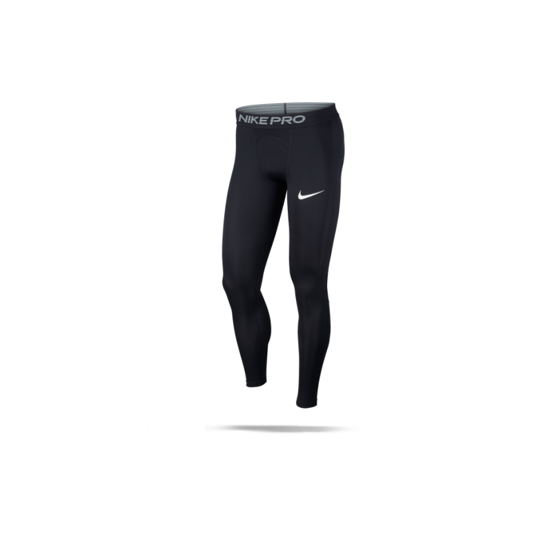 NIKE Pro Trainings Tights lange Unterhose (010) - Schwarz